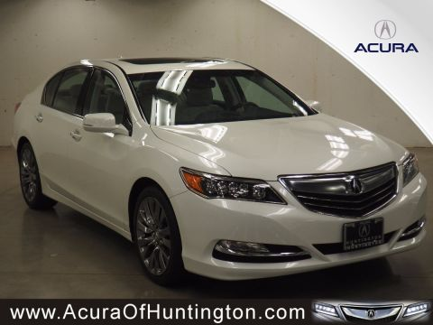 New 2017 Acura RLX with Technology Package