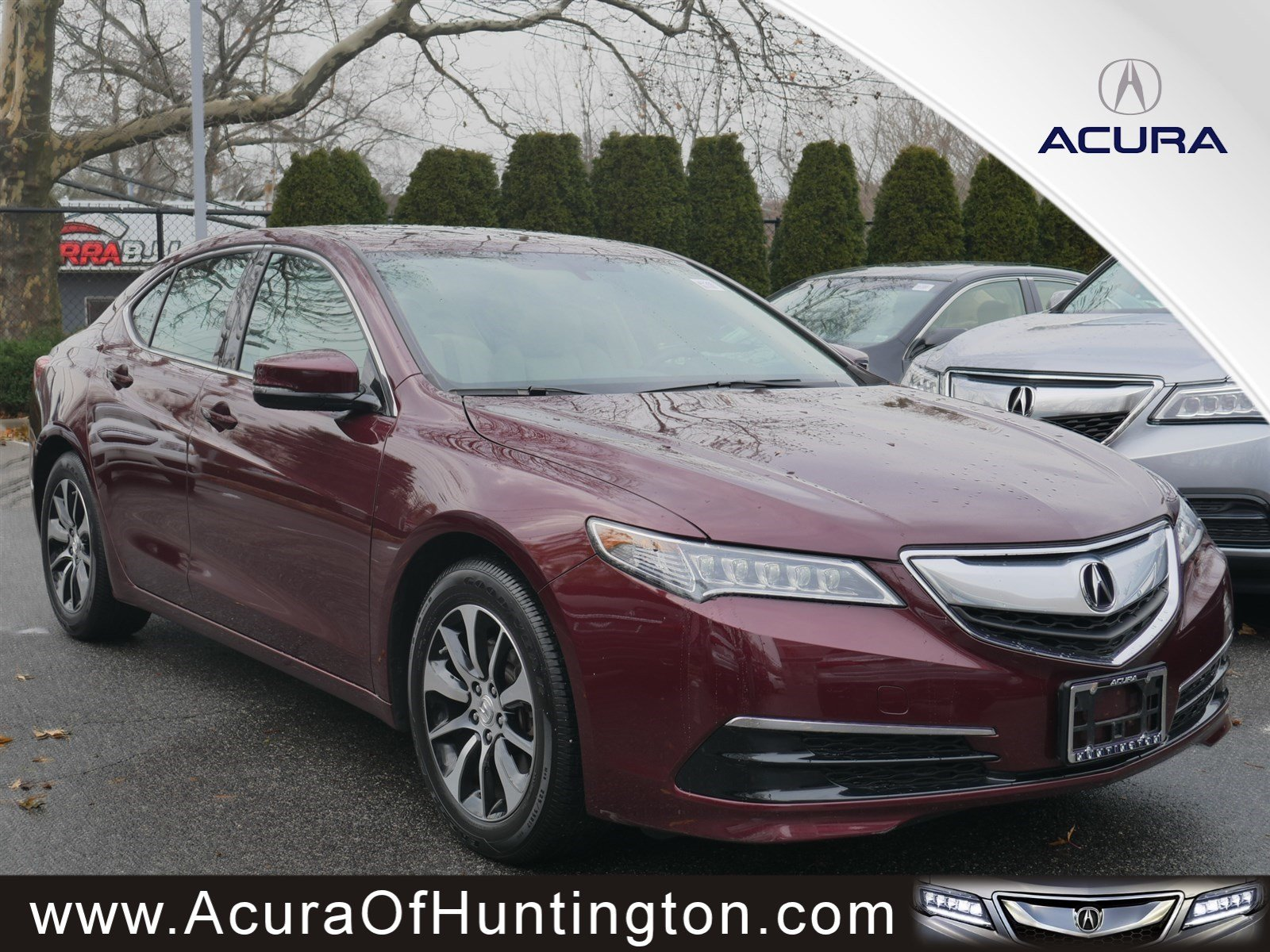 Pre Owned 2015 Acura TLX 4dr Car in Huntington UA7260