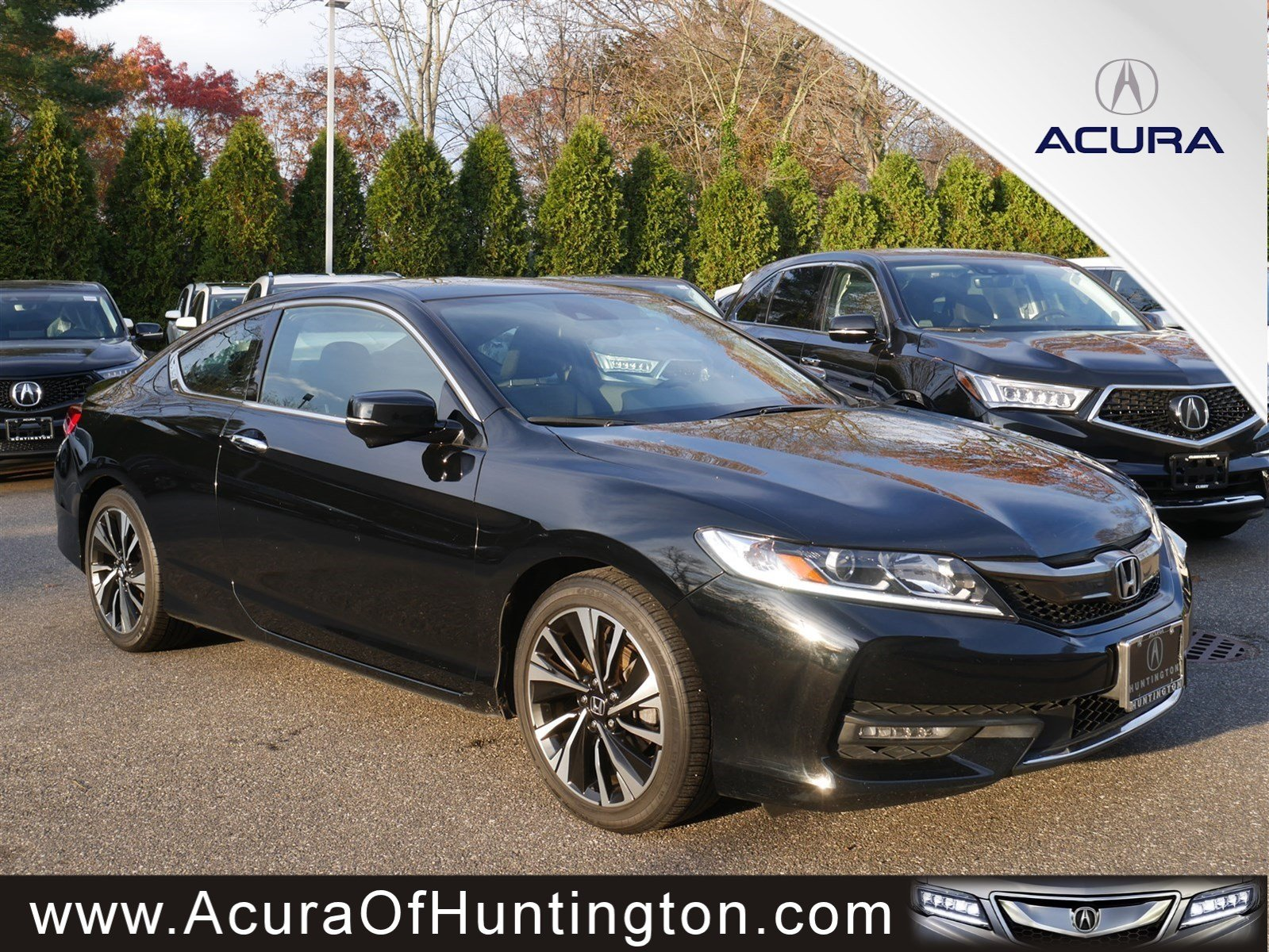 Pre Owned 2016 Honda Accord Coupe Ex 2dr Car In Huntington Ua7529