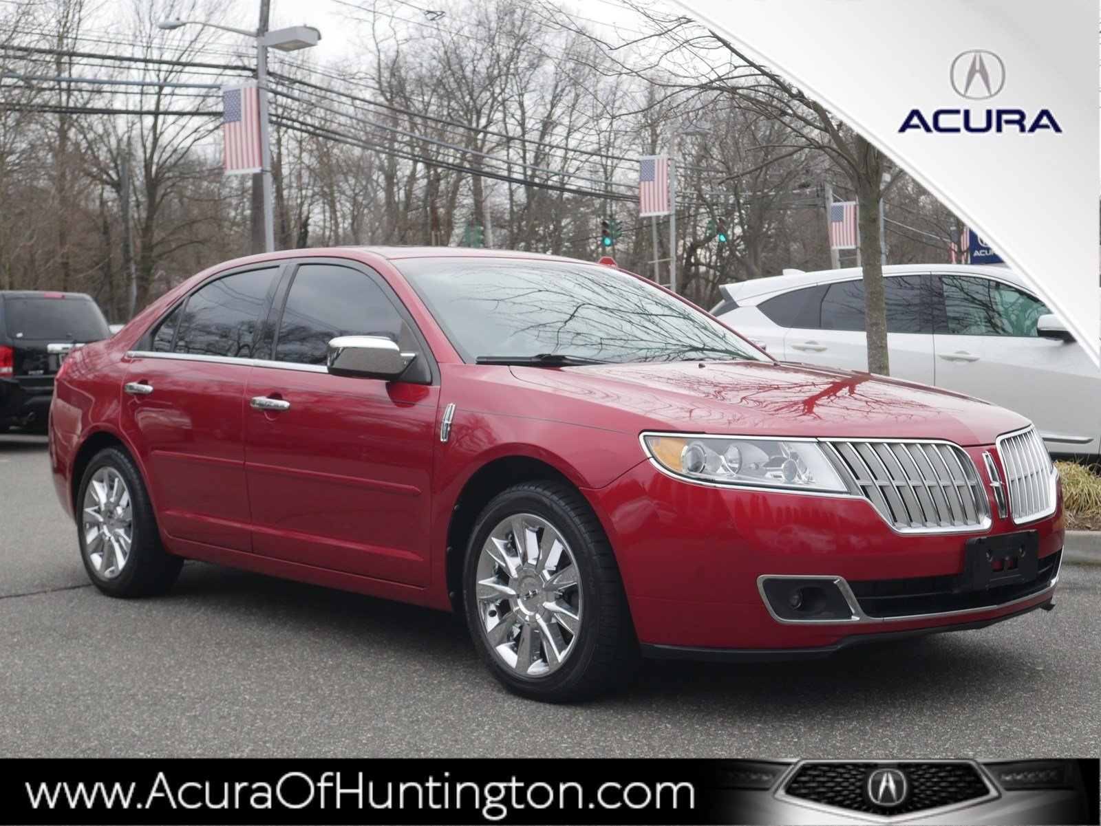 Pre Owned 2017 Lincoln Mkz Base 4dr Car In Huntington Ua7624 Acura Of