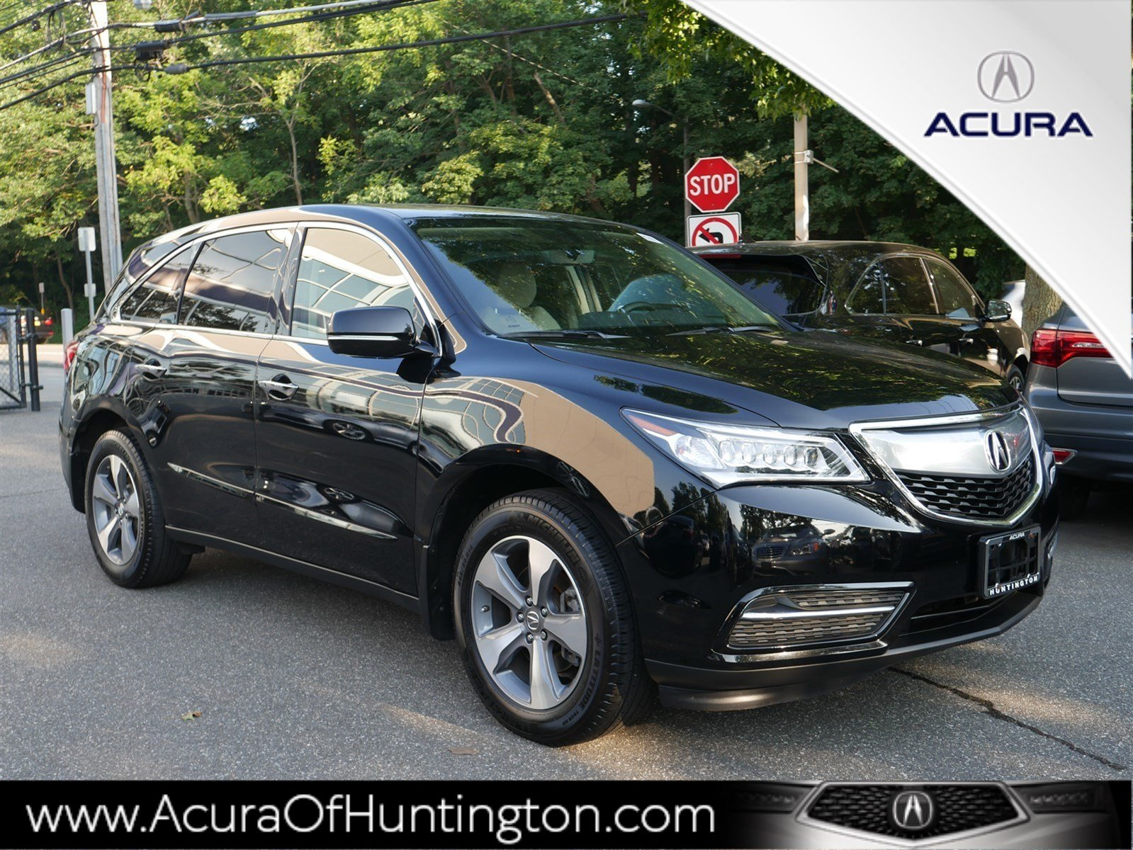 Certified Pre Owned 2016 Acura Mdx Sh Awd Sport Utility In Huntington Ua7455 Of