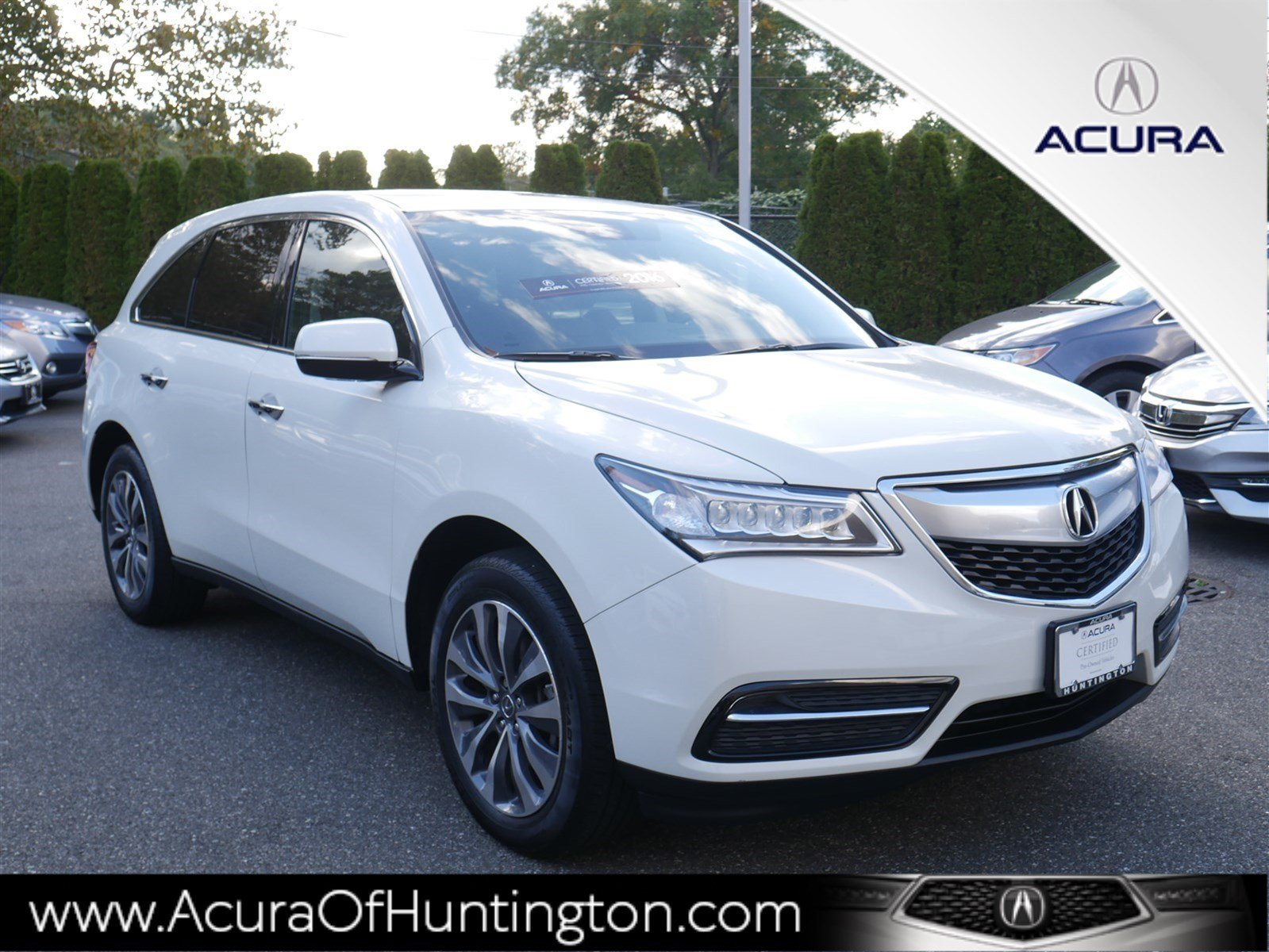 Certified Pre Owned 2016 Acura Mdx Sh Awd With Technology Package
