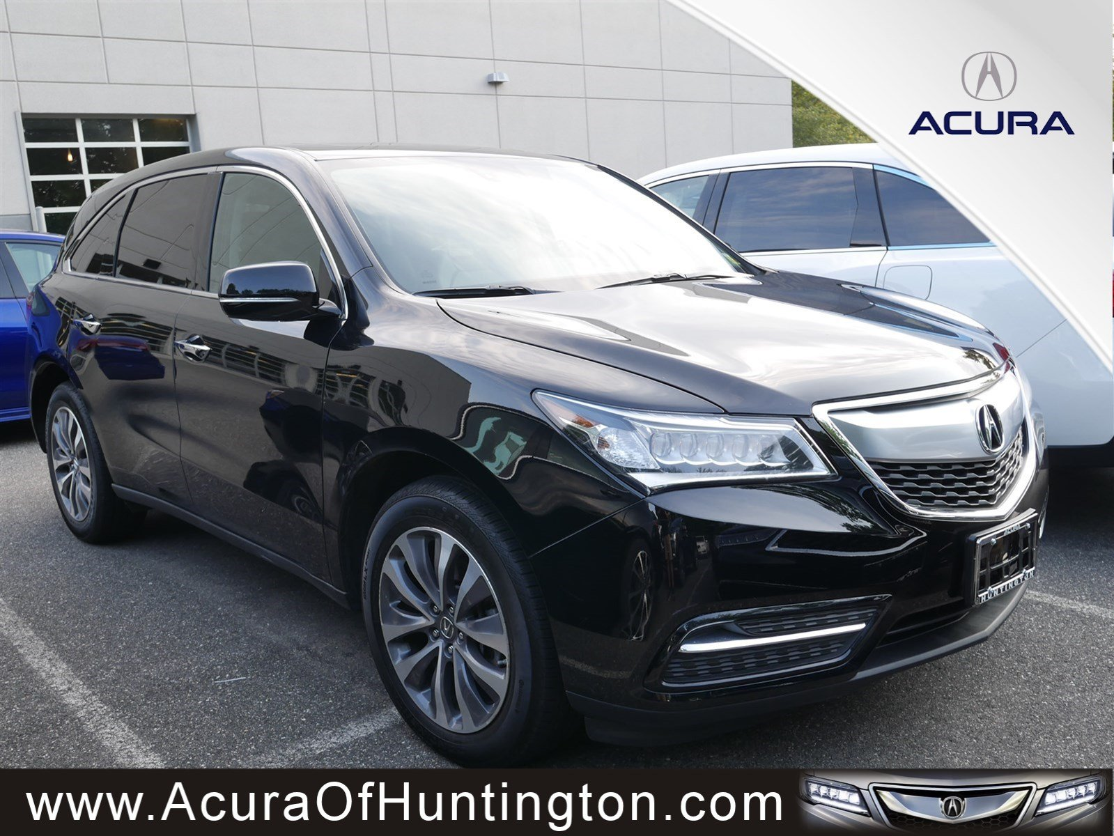 Certified PreOwned Acura MDX SHAWD With Technology Package - Acura mdx pre owned