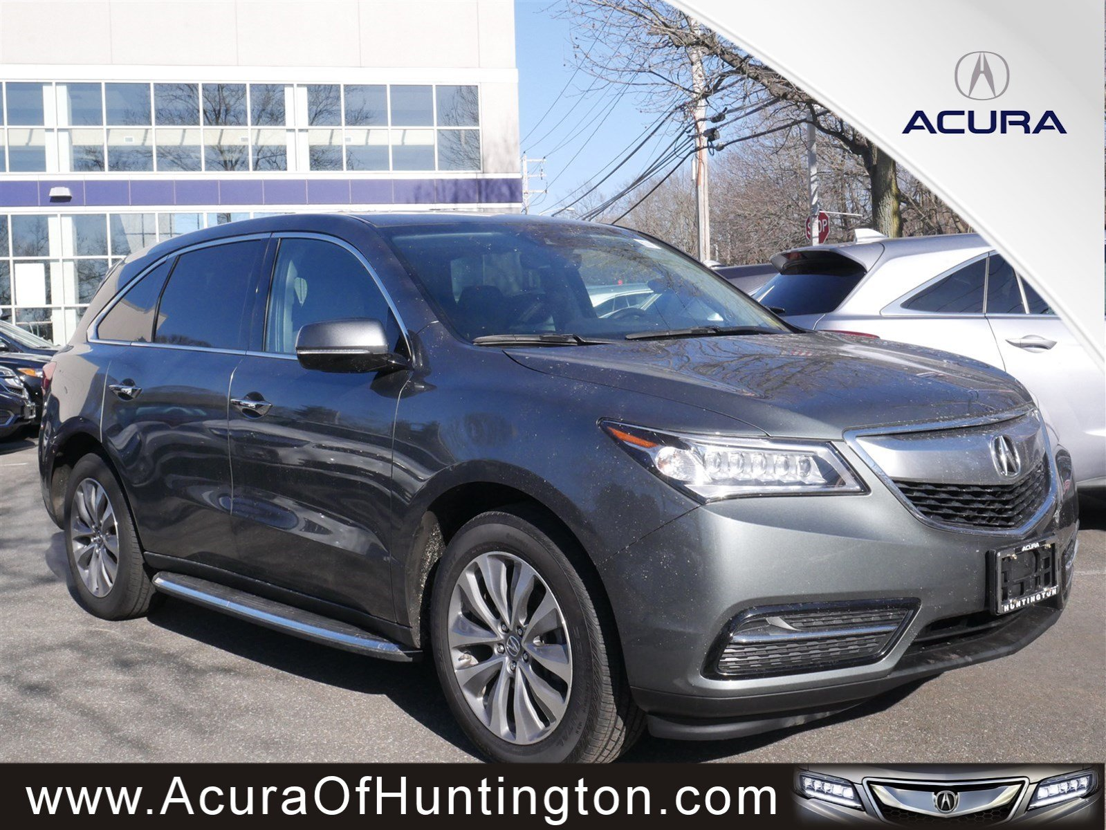 Pre Owned 2016 Acura MDX w Tech Sport Utility in Huntington UA7318