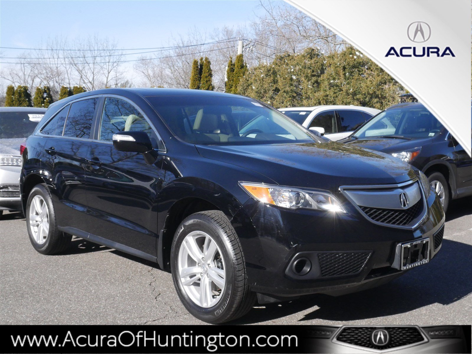 Certified Pre-Owned 2015 Acura RDX